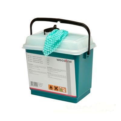 Clean 'n easy EXTRA hygiëne doeken (GROEN) 36x30cm, emmer a 150stuks