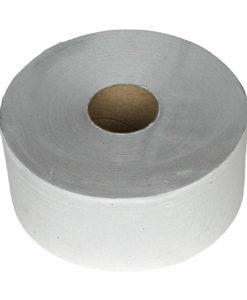 Toiletpapier MAXI jumbo rol, 1-laags, 525 meter, 6 rollen per colli