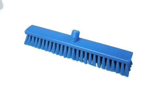 Hygiënische medium bezem 50cm blauw