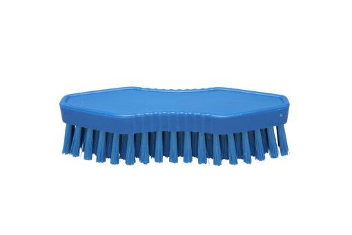 Hygiënische werkborstel 18cm blauw