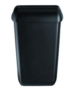 Afvalbak 23 liter Quartz-lijn zwart