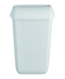 Afvalbak 43 liter Quartz-lijn wit