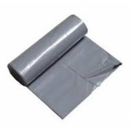 Afvalzak, LDPE, 60x80cm, grijs, T50, 1 rol à 20st.