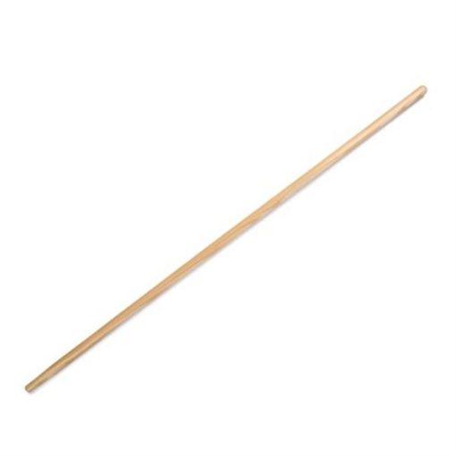 Houten bezemsteel, 150 cm