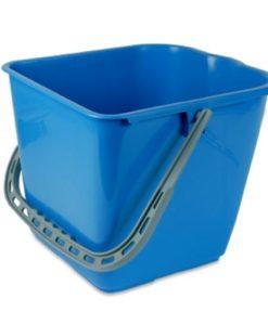 Mopemmer, 15 ltr. blauw tbv mopwagen.