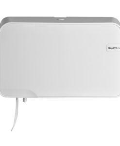 Euro White Quartz duo toiletrolhouder - Coreless