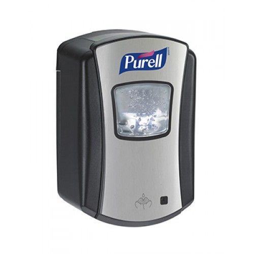 Gojo Purell handzeep dispenser.