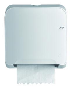 Handdoekautomaat Mini Matic XL Quartz-lijn wit