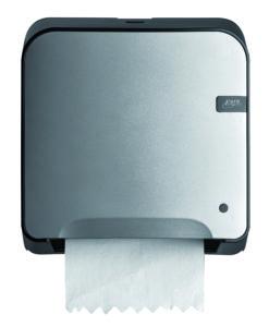 Handdoekautomaat Mini Matic XL Quartz-lijn zilver