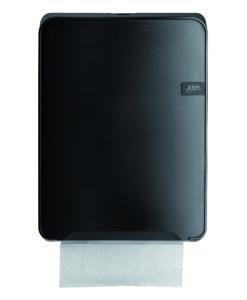 Handdoekdispenser Multifold Quartz-lijn zwart