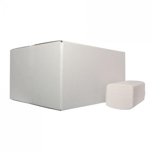 Handdoekpapier Z-vouw, 2-laags, 15pakx210st.
