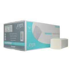 Handdoekpapier eco Z-vouw, 2-laags, wit 16pakx199st.