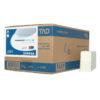 Handdoekpapier mini fold wit, 1-laags, 20pakx88st.