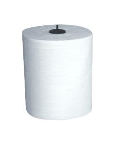 Handdoekrol matic, wit, 2-laags, 150mtrx21cm, 6 rol.