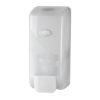 Handzeep dispenser, schuim, wit, inhoud 1000ml.