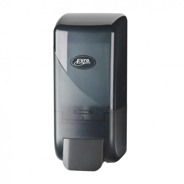 Handzeep dispenser, zwart.