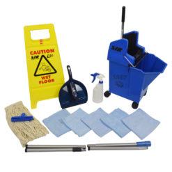 Kentucky mop starter kit - Blauw