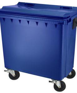 Kunststof container blauw 770Ltr.