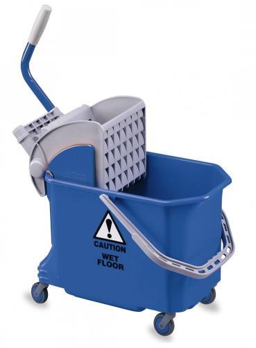 Kunststof Rolemmer 18 liter, exclusief mop-pers