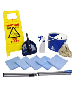Spaanse mop starter kit - Blauw