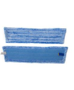Vlakmop microvezel 45cm, blauw scrub