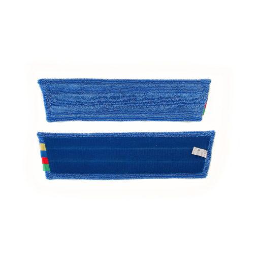 Vlakmop microvezel 45cm, blauw