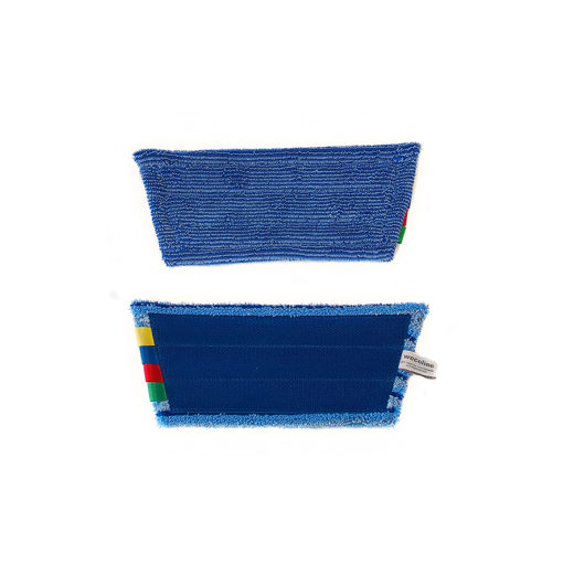 Vlakmop microvezel 28cm blauw