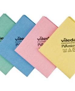Vileda PVA Micro 38x35 cm geel à 5 st.