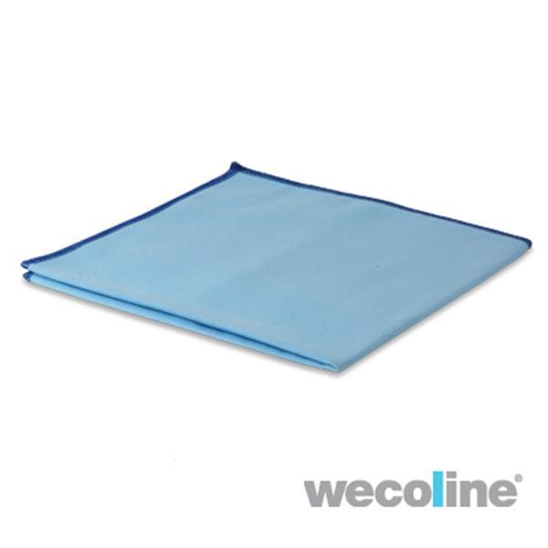 Microvezel glas/metaaldoek, blauw, 10st.