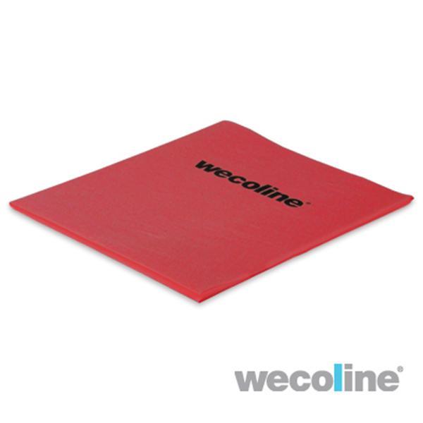 Microvezel non-wovendoek 140gr, 37x38cm, rood 5st/pk.