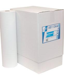 Onderzoek tafelpapier, 1-laags, rec. wit, 150mtrx60cm, 5 st.