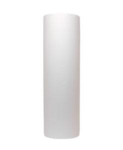 Onderzoek tafelpapier, 2-laags, cel wit, 100mtrx46cm, 6 st.