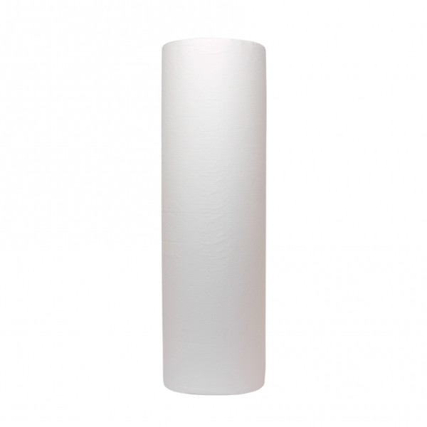Onderzoek tafelpapier, 2-laags, cel. wit, 100mtrx50cm, 6 st.