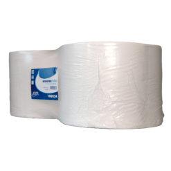 Poetspapier, 1 laags, cellulose, 1000mtrx24cm, 2 rol p/colli.