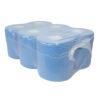 Poetspapier, 2-laags, blauw, 150mtrx20cm, 6 rol p/colli.