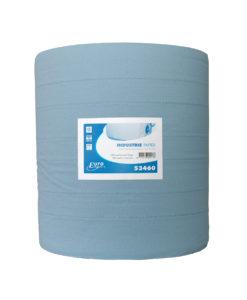 Poetspapier, 3-laags, blauw, 400mtrx37cm, 1 rol p/colli.