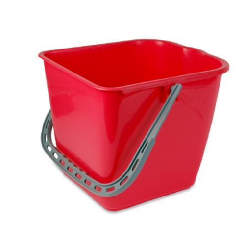Mopemmer, 15 ltr. rood tbv mopwagen.