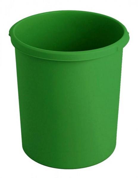 Ronde papierbak groen 30Ltr.