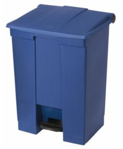 Rubbermaid Step-On Container 68Ltr blauw.