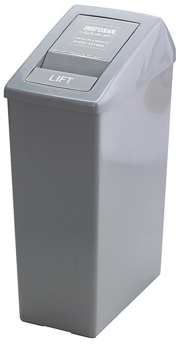 Sanitaire Afvalbak Met Liftdeksel.