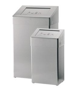 Santral Afvalbak RVS 18 liter (brandveilig).