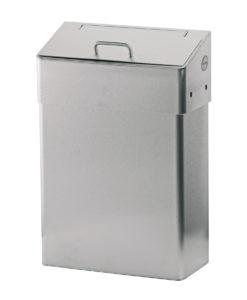 Santral Hygienische afvalbak RVS.