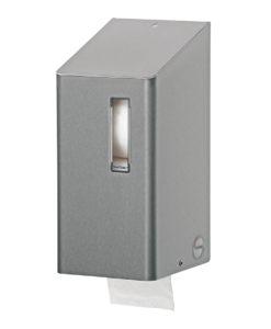 Santral Toiletpapier Doppenrol Dispenser RVS.