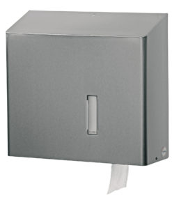 Santral Toiletpapier Jumborol Dispenser RVS.
