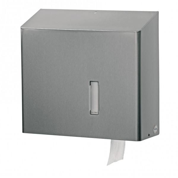 Santral Toiletpapier Jumborol Dispenser RVS.