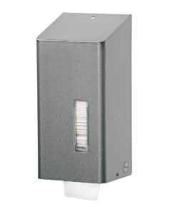 Santral Toiletrol dispenser, RVS (2 rol traditioneel).