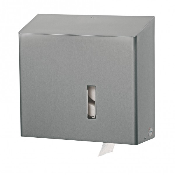 Santral Toiletrol dispenser, RVS (4 rol traditioneel).