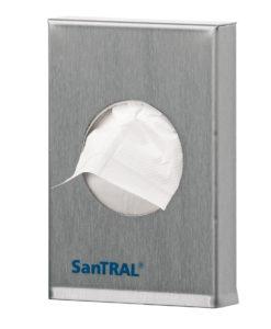 Santral hygiene verbandzakjes RVS (plastic zakjes).