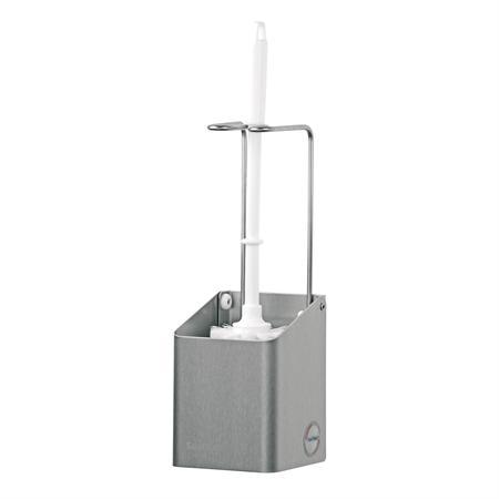 Santral toilet borstelhouder, 2, RVS mat, 310x106x109mm.