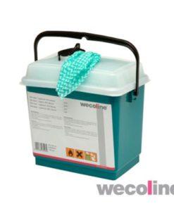 Geimpregneerde schoonmaakdoek, Hygienisch ethanol 80%.
